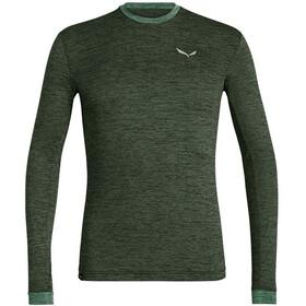 SALEWA Puez Melange Dry T-shirt à manches longues Homme, kombu green melange